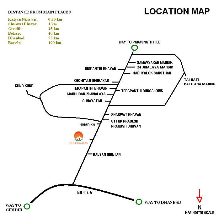 Location Map Madhuban